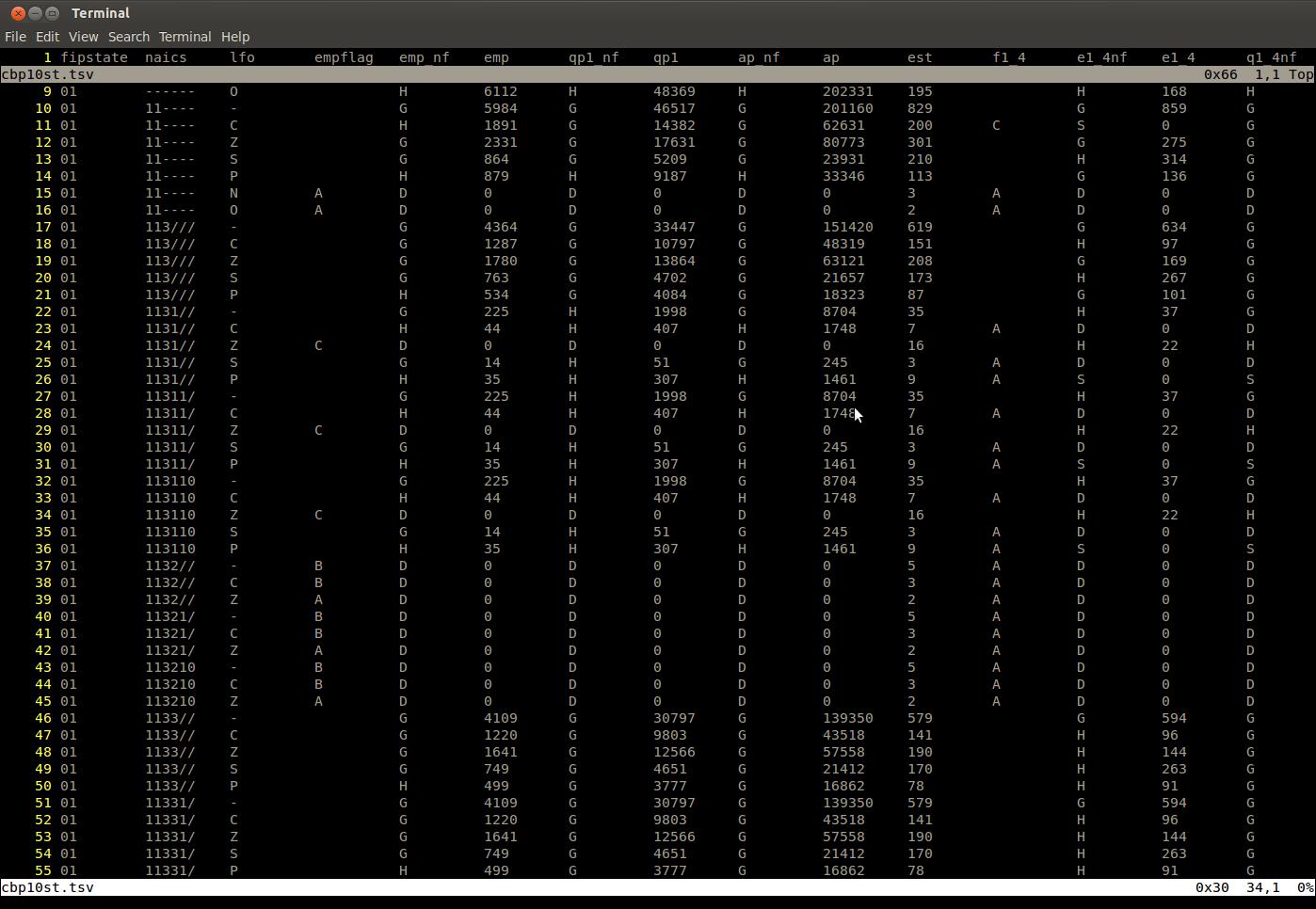 Turn Vim Into Excel: Tips for Editing Tabular Data